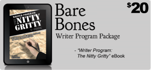 BareBonesPackage writer workshop online
