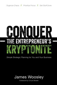 ConquertheEntrepreneursKryptonite_JamesWoosley_ hire an editor testimonial