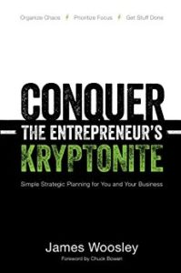 Book edited by Jennifer Harshman Conquer the Entrepreneur's Kryptonite