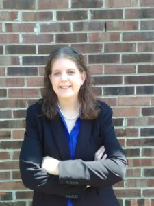 Photo of Renee Wohfarth, assistant project manager for Harshman Services