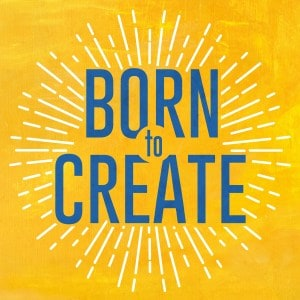 Jennifer Harshman appeared on Born To Create Podcast image of logo