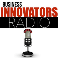 Jennifer Harshman appeared on Business Innovators Radio image of logo