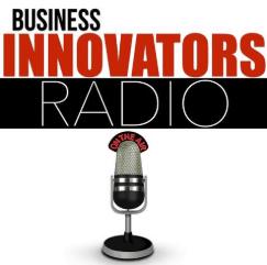 Jennifer Harshman appeared on Business Innovators Radio image of logo