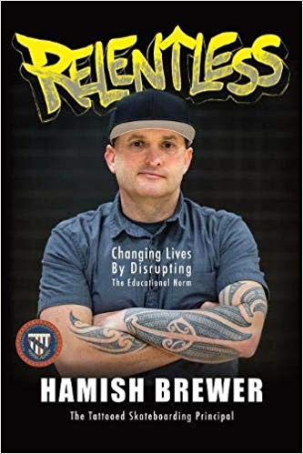 Book edited by Jennifer Harshman Relentless by Hamish Brewer