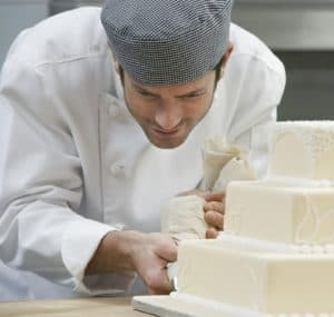 Blog post SEO is not local SEO, and expecting it to be is like asking this cake baker to do the butcher's job.