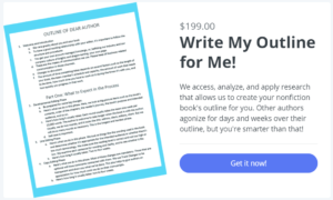Outline My Book offering clickable image