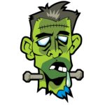 A Frankenedit is like Frankenstein's Monster, shown in this drawing.